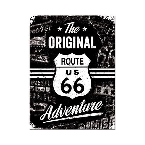 NostalgicArt Magnet / Route 66 The Original Adventure