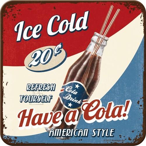 NostalgicArt Retro klaasialus / 1tk / Have a Cola!