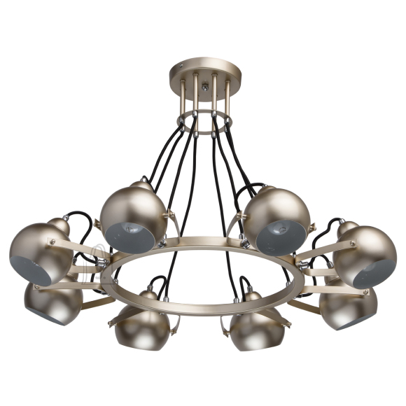 MW-LIGHT laelamp Loft, 8 kupliga
