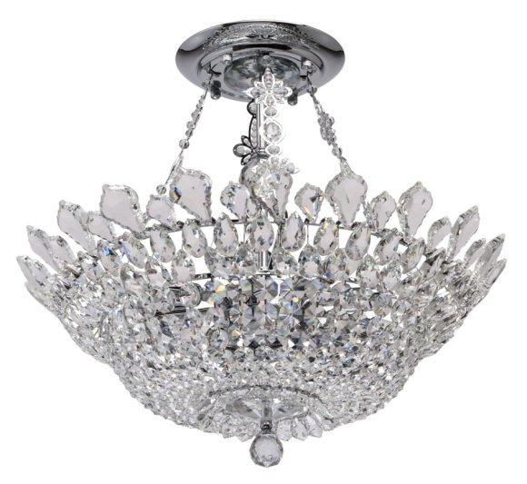 MW-LIGHT laevalgusti Crystal