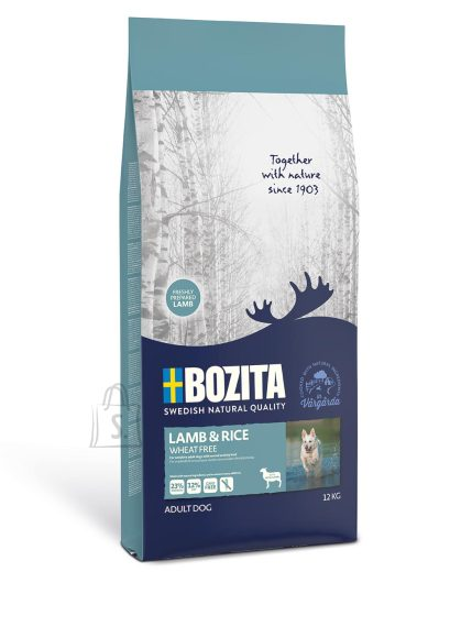 Bozita Bozita Lamb & Rice Wheat Free (nisuvaba) koeratoit 12kg
