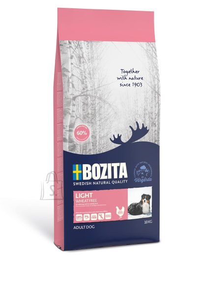 Bozita Bozita Light Wheat Free (nisuvaba) koeratoit 10kg