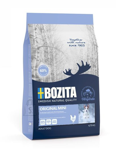 Bozita Bozita Original Mini koeratoit 4,75kg