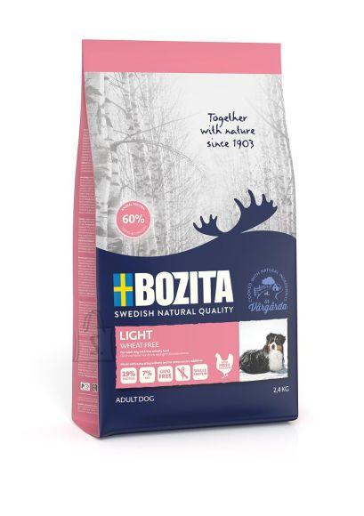 Bozita Light Wheat Free (nisuvaba) koeratoit 2,4kg