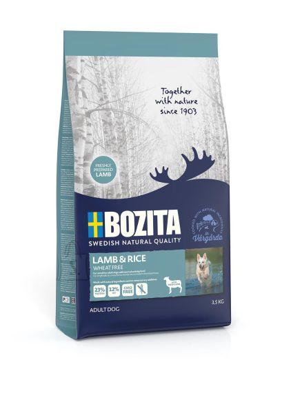 Bozita Lamb & Rice Wheat Free (nisuvaba) koeratoit 3,5kg