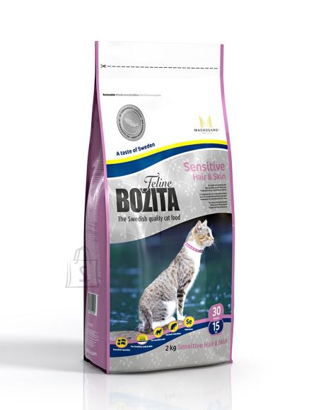 Bozita Feline Sensitive Hair & Skin kassitoit 2kg
