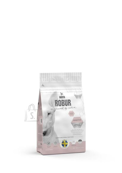 Bozita Robur Sensitive Single Protein Salmon & Rice koeratoit 3kg