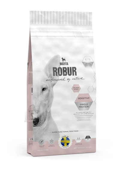 Bozita Robur Sensitive Single Protein Salmon & Rice koeratoit 12,5kg