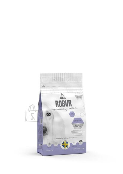 Bozita Robur Sensitive Single Protein Lamb & Rice koeratoit 3kg