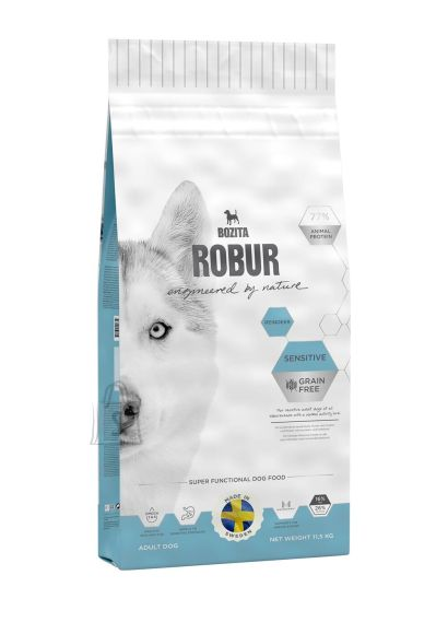 Bozita Robur Sensitive Grain Free Reindeer 11,5kg