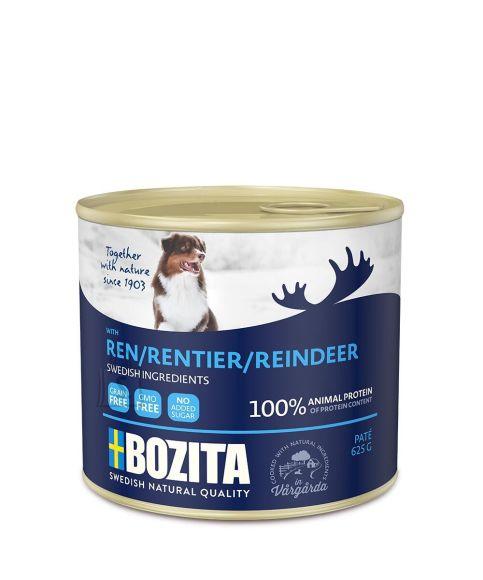 Bozita koeratoit põhjapõdralihaga 12x625g