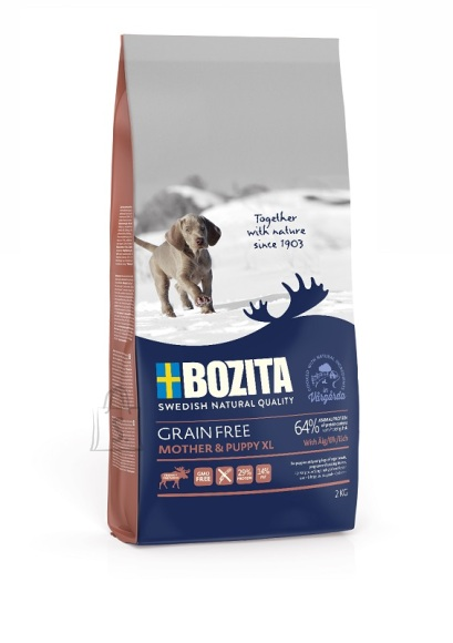 Bozita Grain Free Mother & Puppy Elk XL teraviljavaba koeratoit 2kg