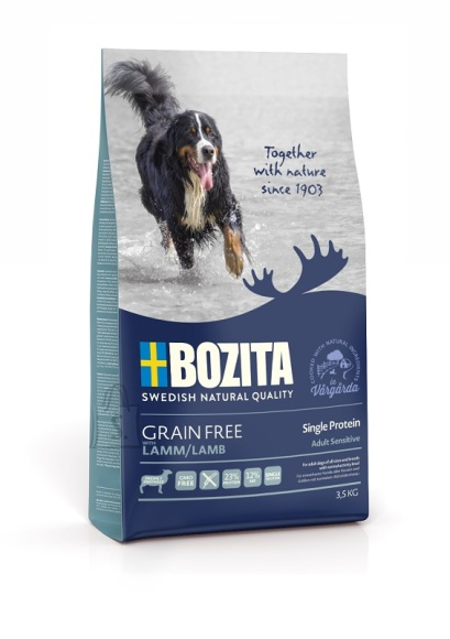 Bozita Grain Free Single Protein Lamb koeratoit 3,5kg