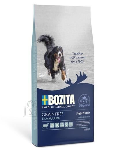 Bozita Grain Free Single Protein Lamb teraviljavaba koeratoit 12,5kg