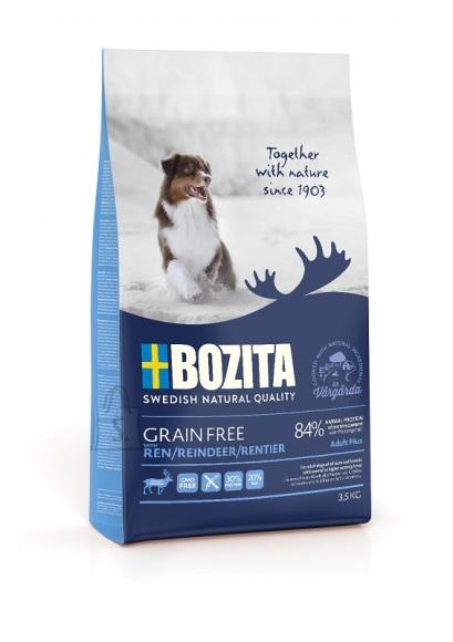 Bozita Grain Free Reindeer teraviljavaba koeratoit 3,5kg