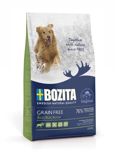 Bozita Grain Free Elk teraviljavaba koeratoit 3,5kg