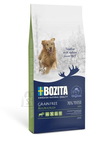 Bozita Grain Free Elk teraviljavaba koeratoit 12kg