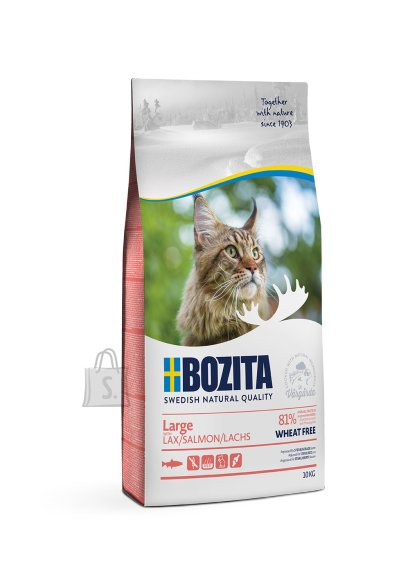 Bozita Large Wheat Free Salmon kassitoit 10kg