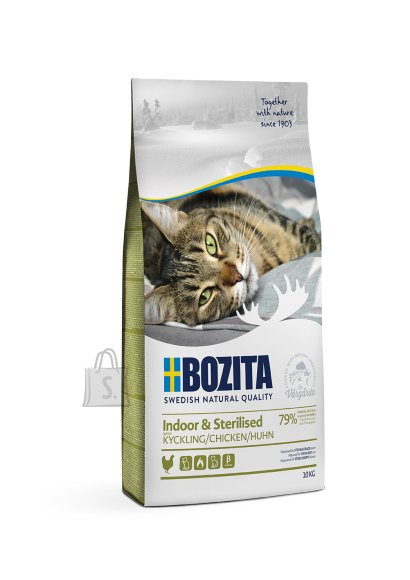 Bozita Indoor & Sterilised Chicken kassitoit 10kg