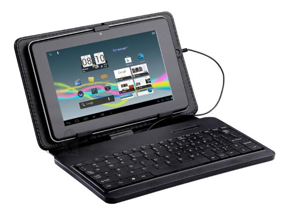 """Tracer tahvelarvuti kaaned Plastic Micro 7"""" klaviatuuriga"""