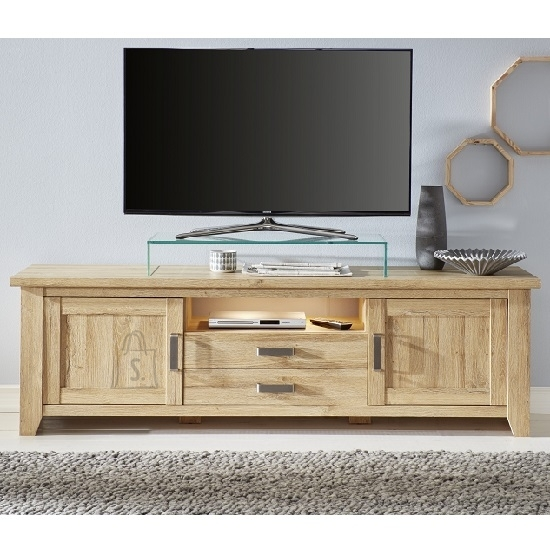 Trendteam TV-alus Canyon tamm, 189x48xH57 cm
