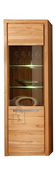 Trendteam Vitriinkapp Zino pöök LED, 68x37xH203 cm