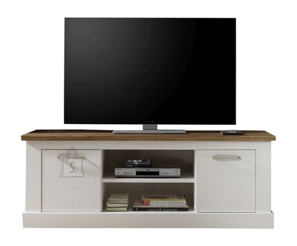 Trendteam TV-alus Toronto valge / pähkel, 160x52xH60 cm