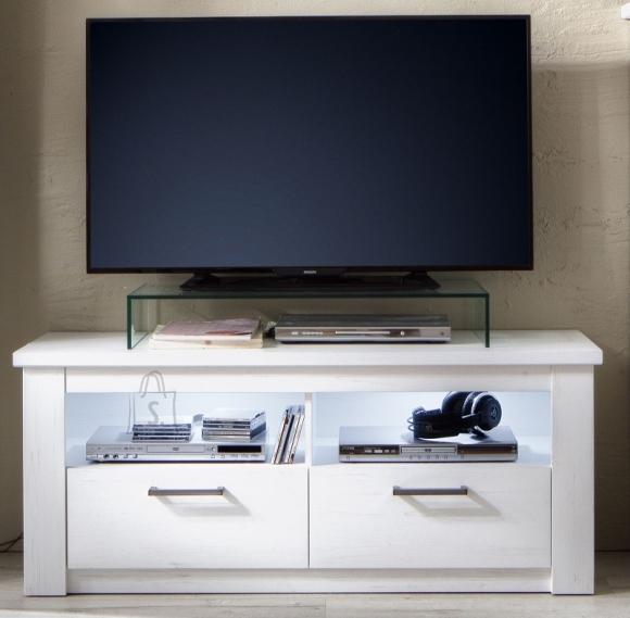Trendteam TV-alus GEORGIA valge, 139x47xH58 cm