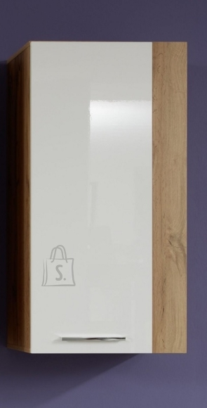 Trendteam Seinakapp ROCK valge läige / tamm, 52x31xH103 cm