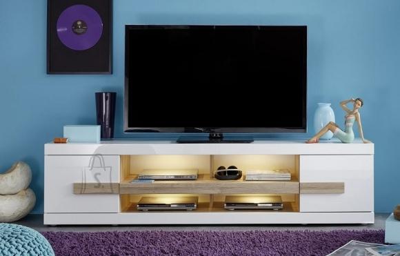 Trendteam Tv-alus ULTRA valge läige, 200x41xH50 cm