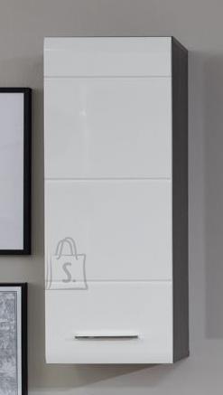 Trendteam Seinakapp LINE hall / valge läige, 30x23xH77 cm
