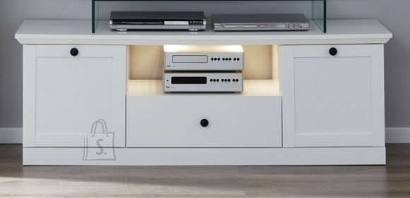 Trendteam TV-alus BAXTER valge, 139x41xH49 cm
