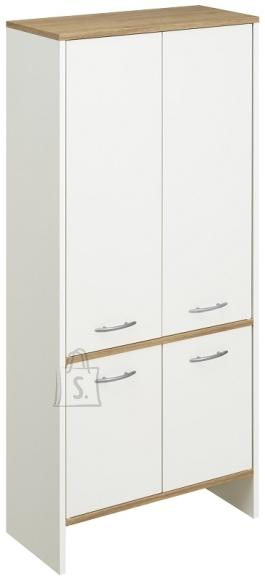 Pelipal Vannitoakapp SINA valge / tamm, 62x28xH136 cm