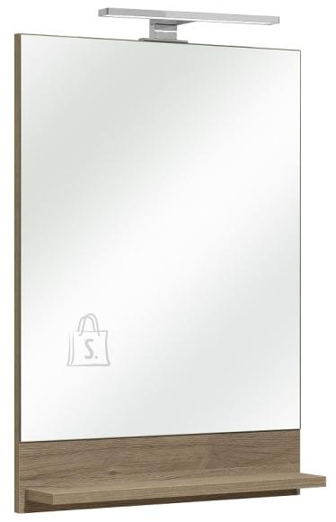 Pelipal Peegel riiuliga OFFENBACH tamm, 50x10xH70 cm