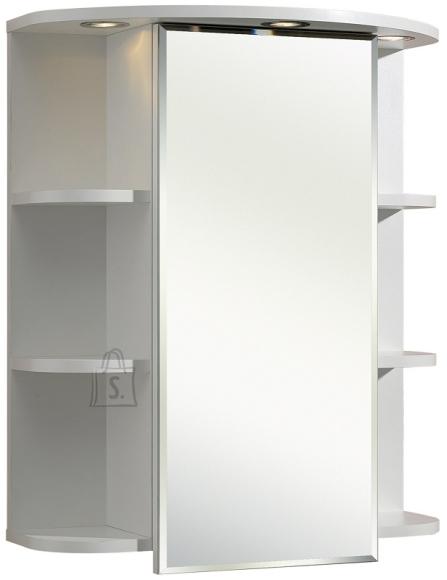 Pelipal Peegelkapp TRIER valge, 60x20xH70 cm LED