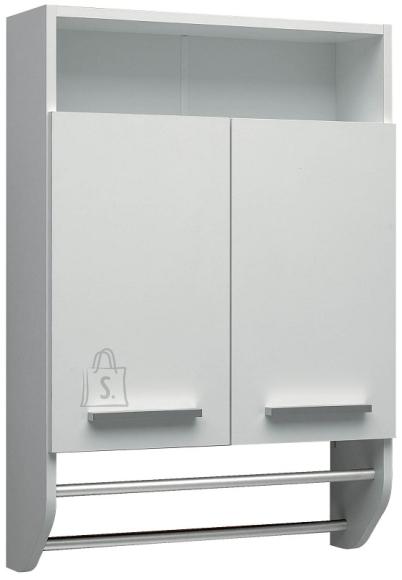 Pelipal Seinakapp rätikuhoidjaga TRIER valge, 60x20xH87 cm