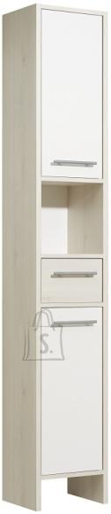 Pelipal Vannitoakapp JAN valge / helepruun 33x28xH195,5 cm