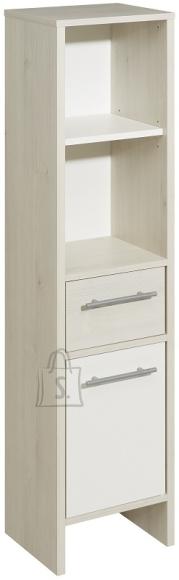 Pelipal Vannitoakapp JAN valge / helepruun 33x28xH136,2 cm