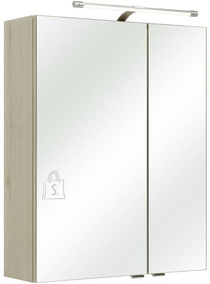 Pelipal Peegelkapp MARE helepruun, 60x20xH76 cm, LED