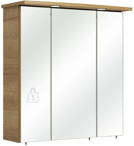 Pelipal Peegelkapp RÜDESHEIM tamm, 65x20xH72 cm, LED