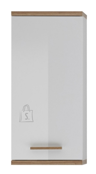 Pelipal Seinakapp NOVENTA valge / tamm 35,5x20,5xH74,5 cm
