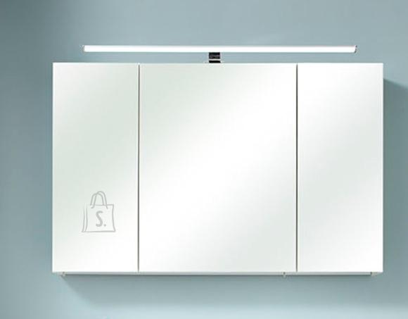 Pelipal Peegelkapp AMORA valge tamm, 110x20xH70 cm LED