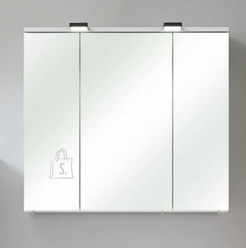 Pelipal Peegelkapp BELGRAD valge läikega, 80x20xH70 cm LED