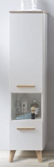 Pelipal Vannitoakapp BURGAS valge läige, 30x33xH122,5 cm