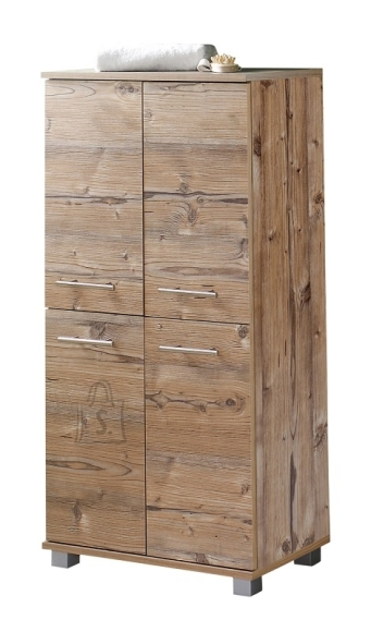 Schildmeyer Vannitoakapp ISOLA helepruun, 60x33x117 cm