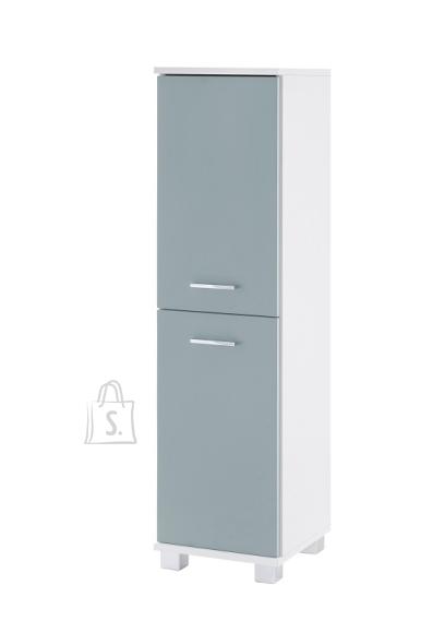 Schildmeyer Vannitoakapp LUMO sinine / valge, 30x33xH117 cm