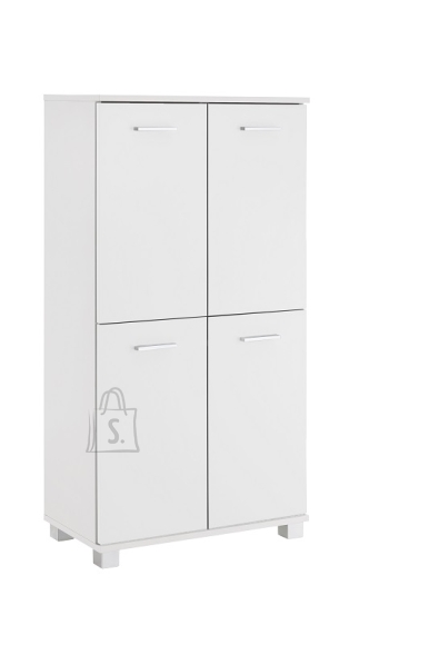 Schildmeyer Vannitoakapp LUMO valge, 60x33xH117 cm