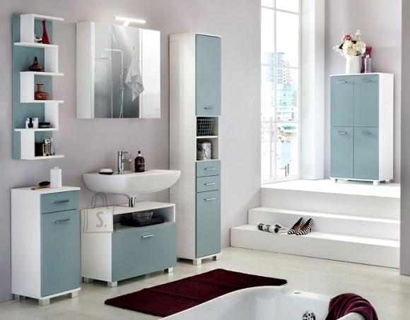 Schildmeyer Vannitoamööbli komplekt LUMO sinine / valge, LED