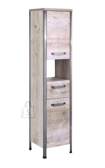 Schildmeyer Vannitoakapp HARKON pruun, 35x34xH162 cm