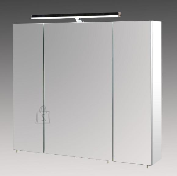 Peegelkapp ARES valge, 80x16xH75 cm, LED